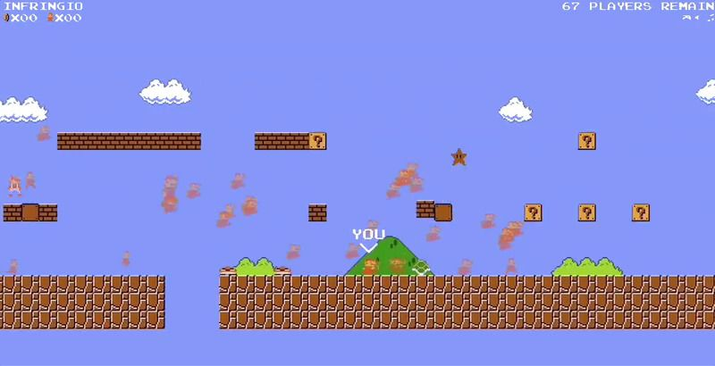 Race to the Flag: The Mario Battle Royale