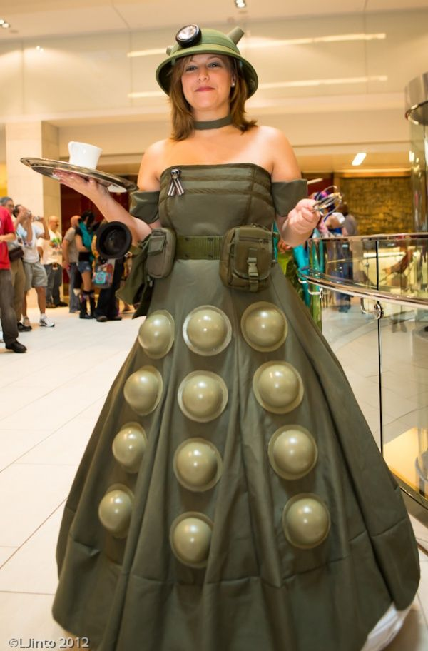 The Perfect Dalek Dress For The Quot Victory Of The Daleks