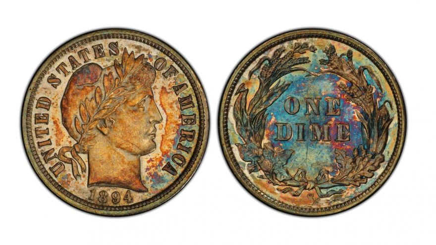 This 125-Year Old Dime Was Sold For $1.32M