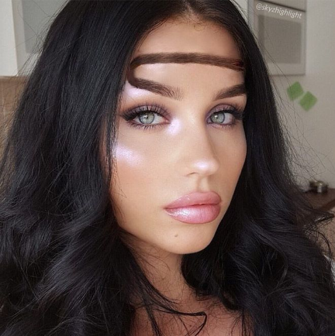 Who Wants Halo Eyebrows?