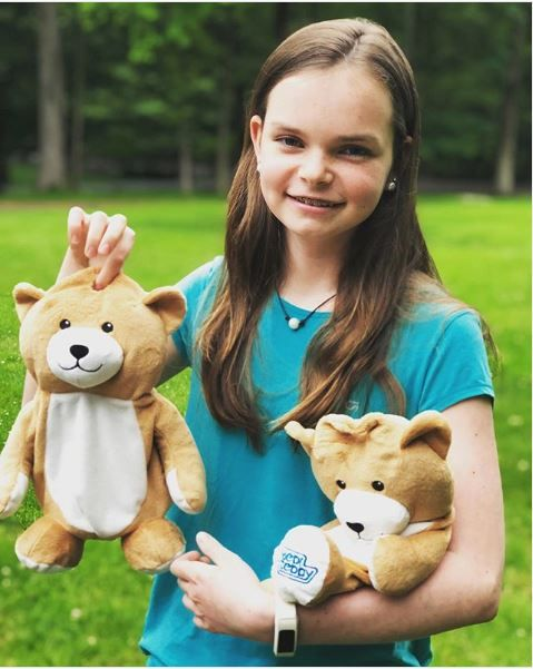 12-Year Old Invents Teddy Bear that Hides IV Bags