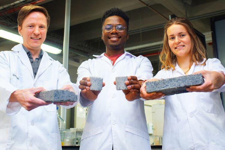 Bricks Made From Human Pee