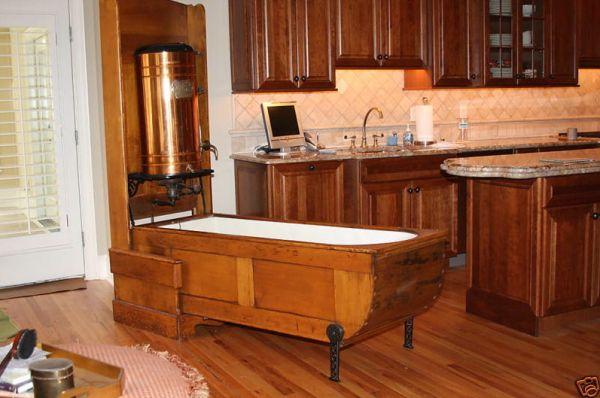 The Mosely Folding Bathtub