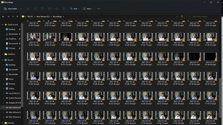 This Man Accidentally Recorded 682 Gigabytes of Video of Himself