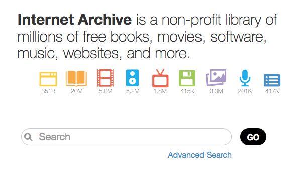 Archive.org - a Treasure Chest of Literature