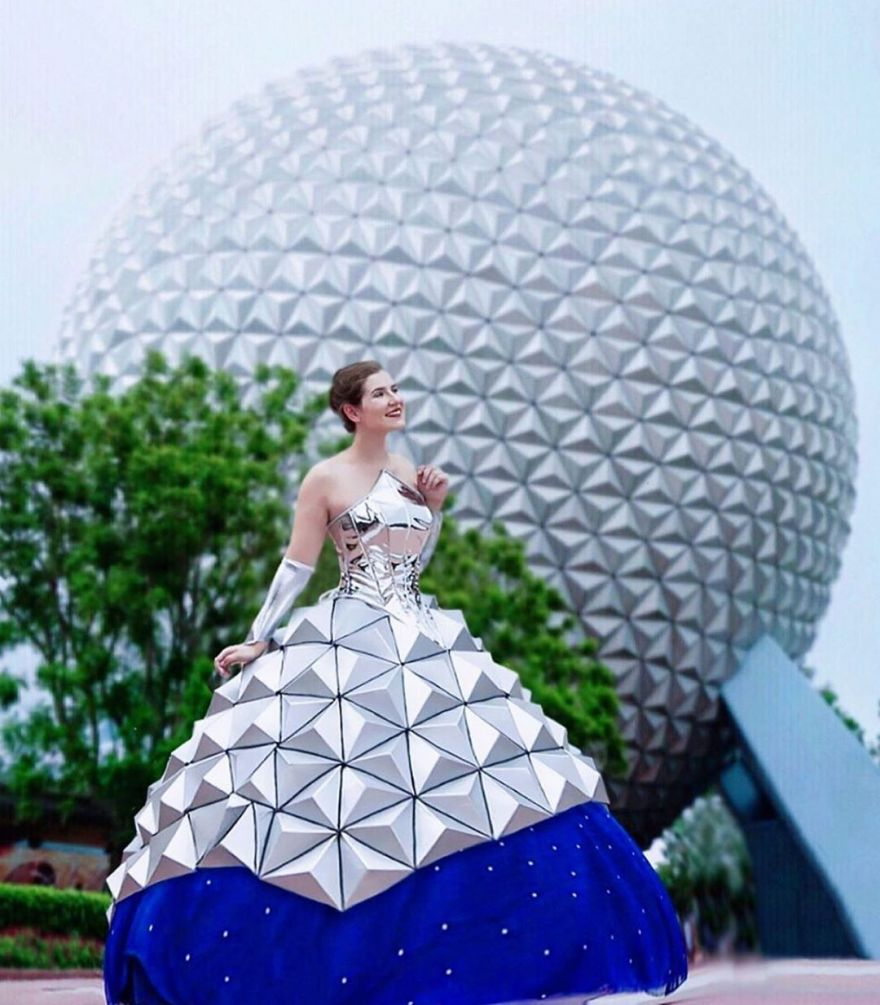 The Epcot Ball Gown