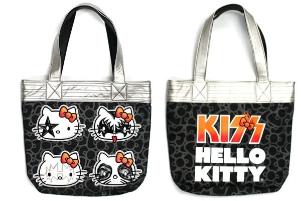 407fafda67 Hello Kitty KISS Tote Bag - Neatorama