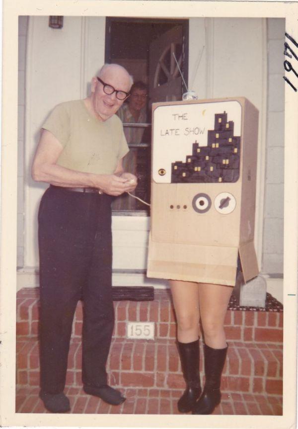 Crazy Vintage Homemade Halloween Costumes