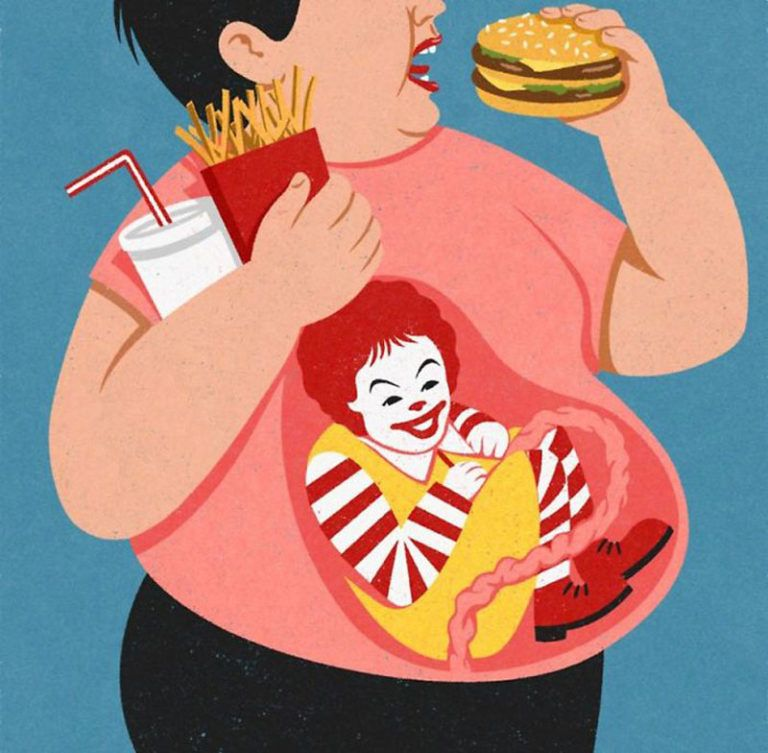 Modern World's Societal Issues In Eight Illustrations by John Holcroft