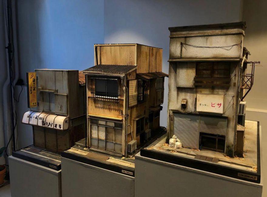 Miniature Tokyo Storefronts