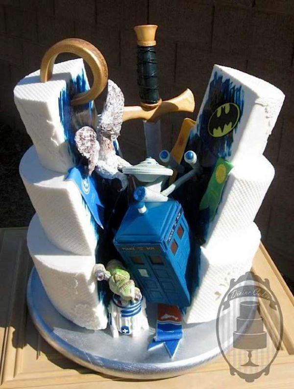 Multi Fandom Geek Wedding Cake Neatorama