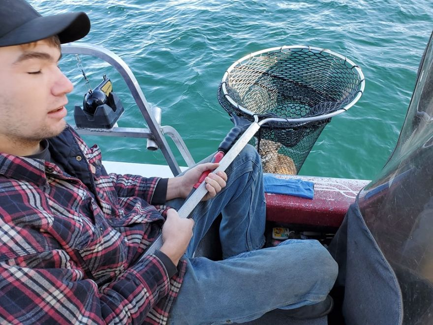 Man Makes Unexpected Catch In A Montana Lake
