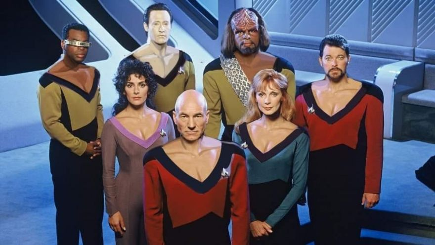 What if Everyone on Star Trek: The Next Generation Wore Troi's Plunging Neckline