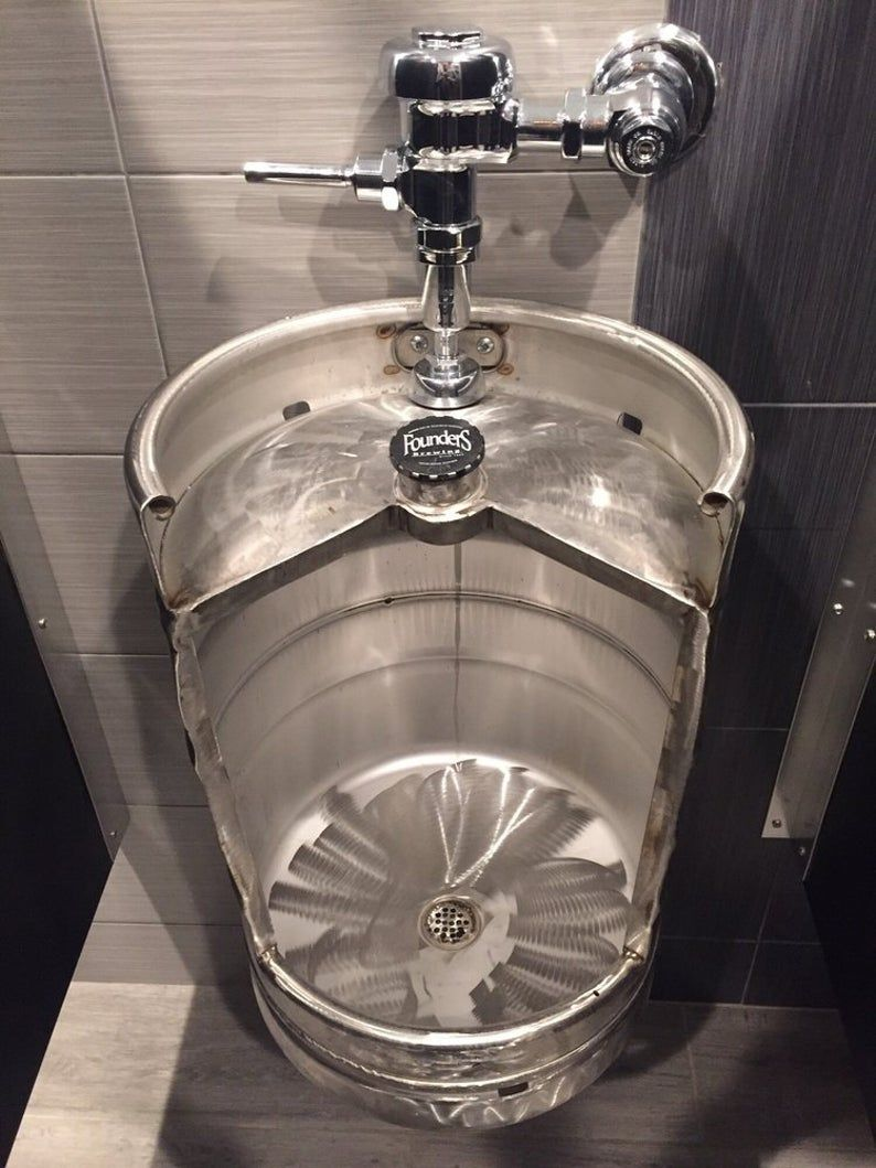 Beer Keg Urinals