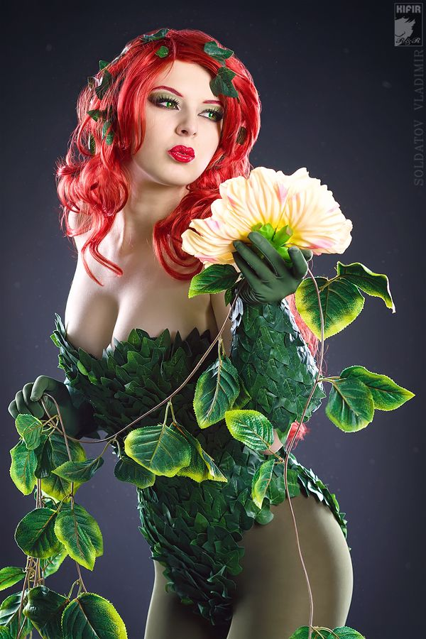 Lively Poison Ivy Cosplay