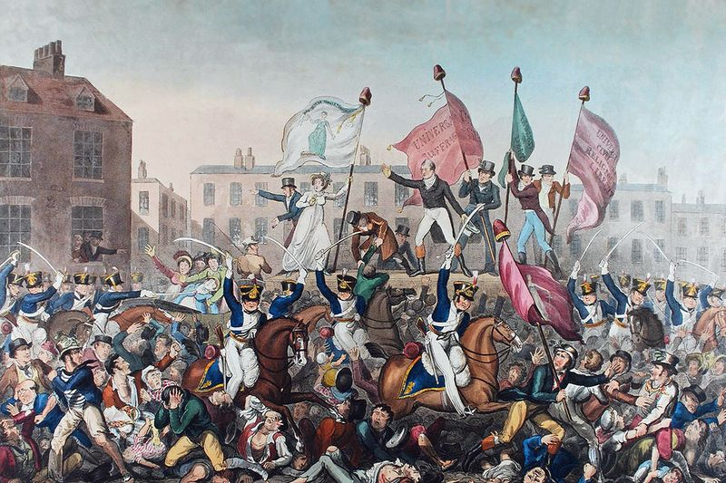 How the Peterloo Massacre Changed the Course of British History