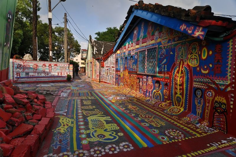 Taiwan's Rainbow Village: Why The Only Resident Hand-Painted All The Buildings