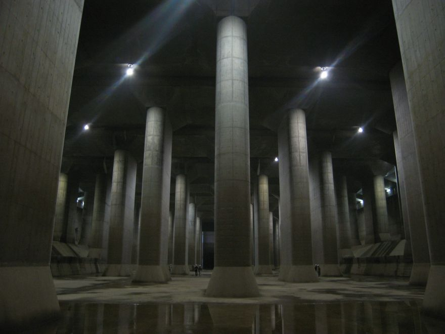 Japan's Floodwater Cathedral: How Tokyo Defends Against Floods