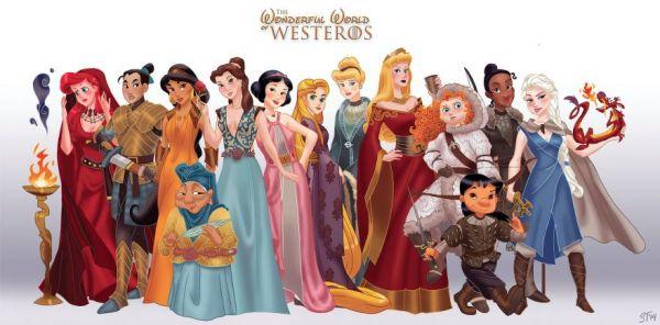Disney Princesses As Game Of Thrones Characters - Neatorama