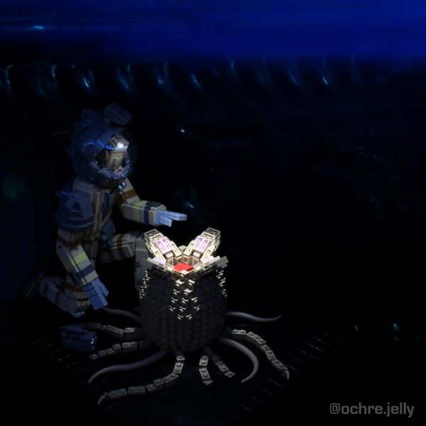 An Alien Tribute in LEGO