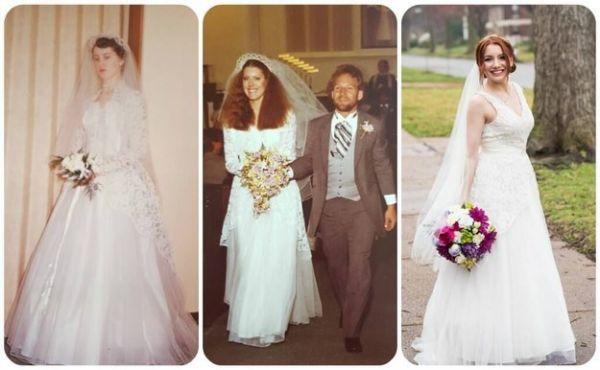 Third Generation Wedding Dress - Neatorama