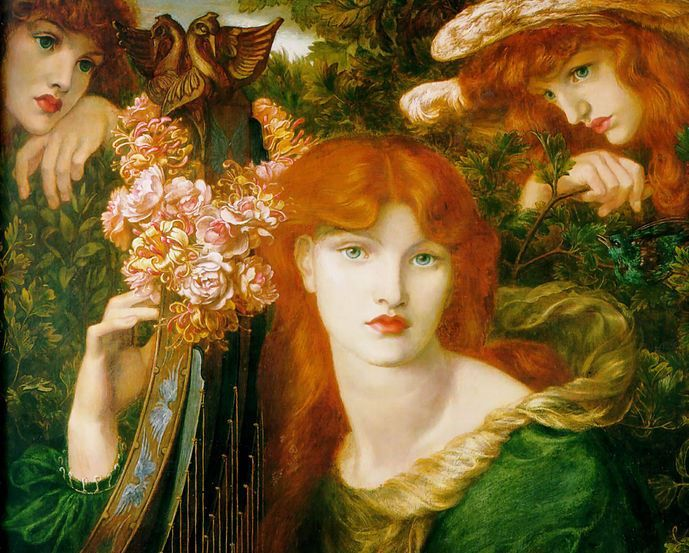 The Rich Art History of Redheads