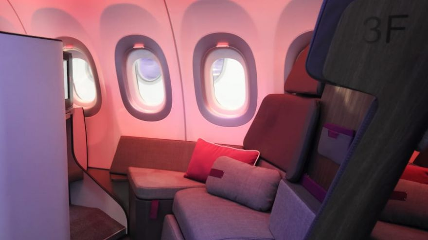 Airbus' New Couch-Style Seating Offers Fresh Way of Business Air Travel
