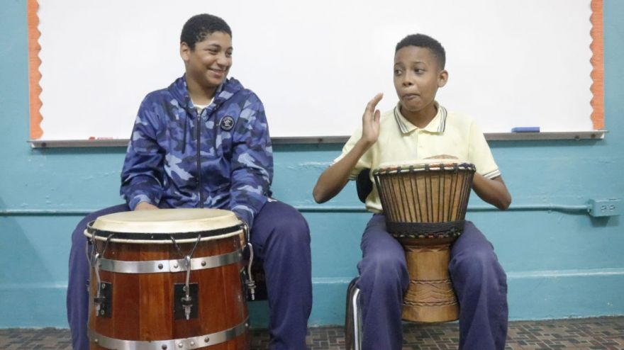 Music Therapy Helps Children Facing Post-Hurricane Trauma in Puerto Rico