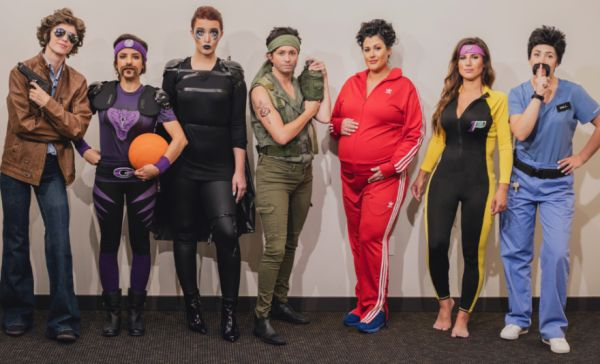 Seven Friends Dress as Ben Stiller for Halloween