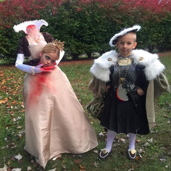 Henry the VIII and Ann Boleyn Halloween Costumes