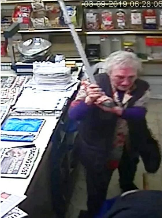 82-Year Old Grandma Beats up Robber with Her Cane
