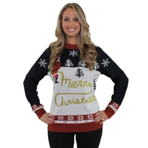 there are plenty of ugly sweaters out there this time of year but while most of them are trashy and tacky it takes a lot to be downright offensive and - Offensive Ugly Christmas Sweater