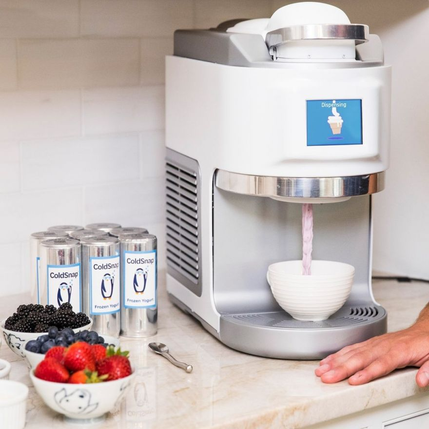 This is a Keurig for Ice Cream