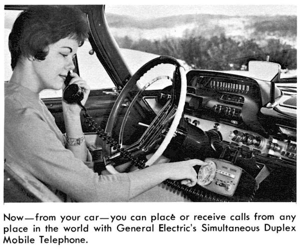 A Surprising Compendium of Car Phones Dating Back to the 1940s