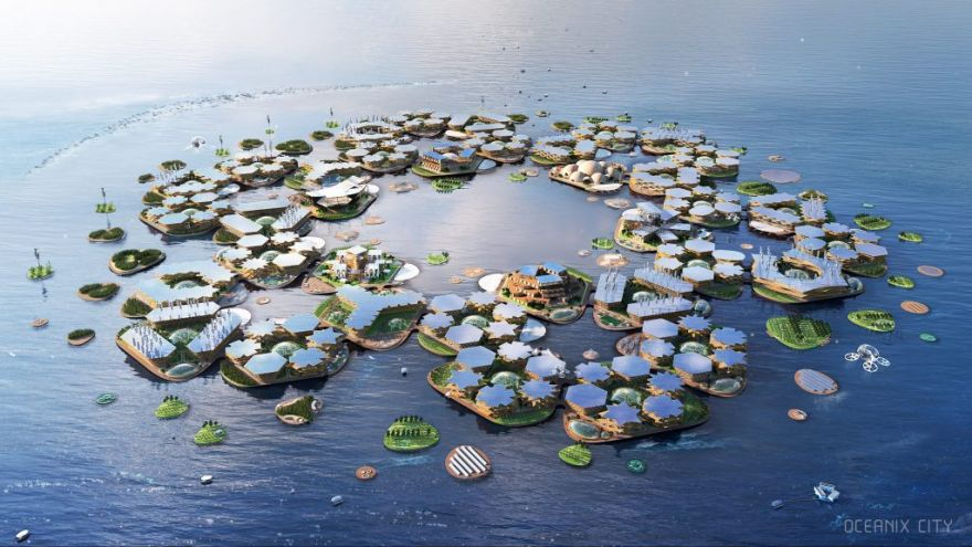 Finding Refuge in Floating Cities