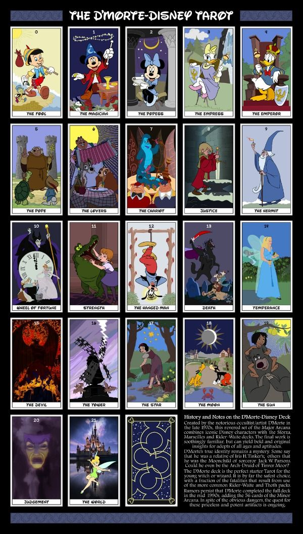 A Magical Kingdom Indeed! Disney Tarot Cards
