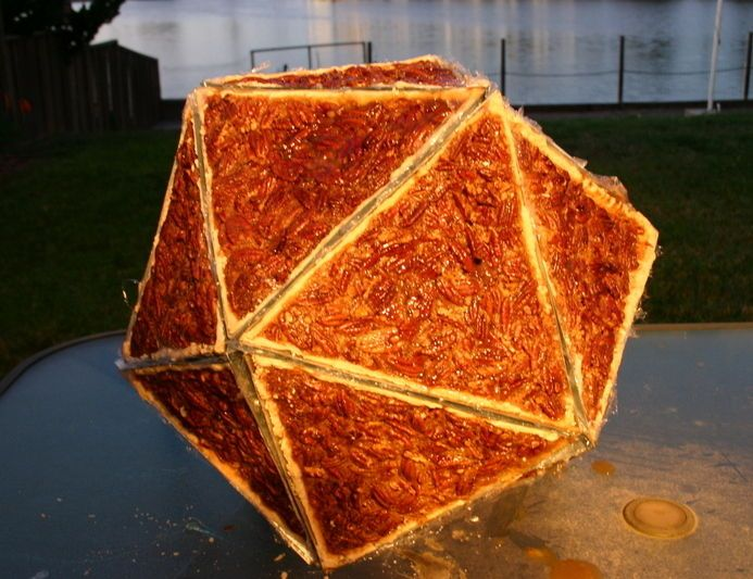 Pie-cosahedron: How To Make One