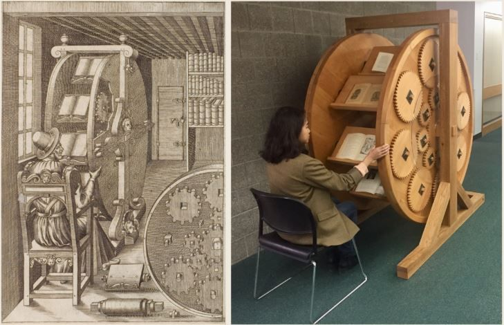 The Bookwheel in Real Life
