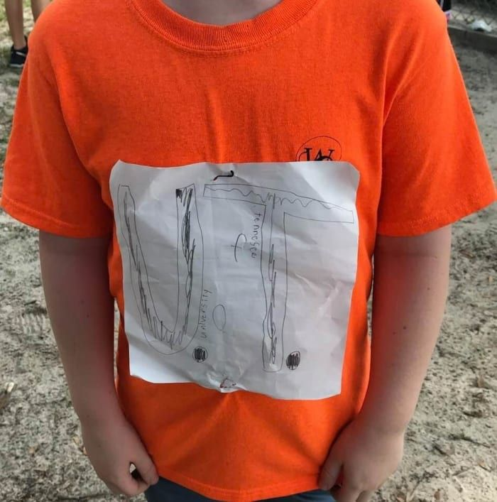 This Fourth Grader Was Bullied For His Handmade Shirt, But Now It's An Official Merchandise