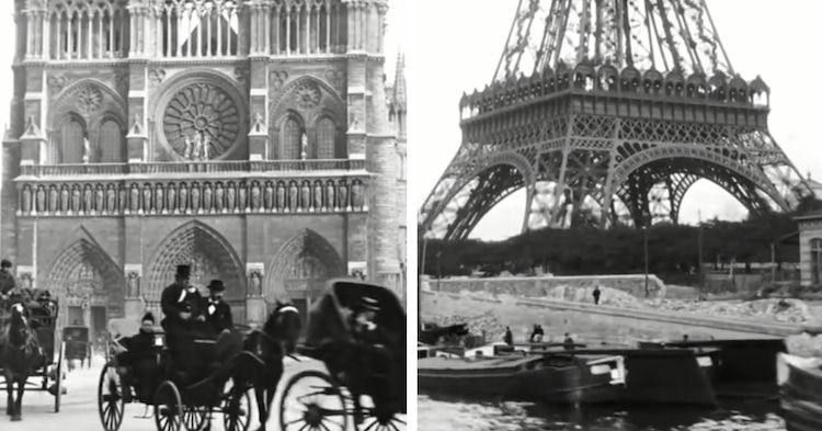 Explore Paris In The 1890's With This 130 Year-Old Footage!