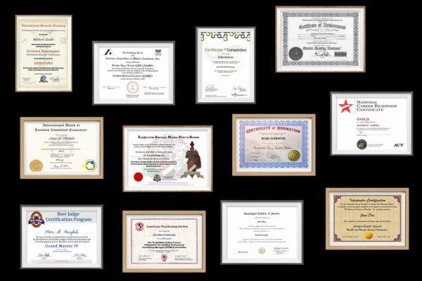 Strange Certifications One Can Earn Online - Neatorama