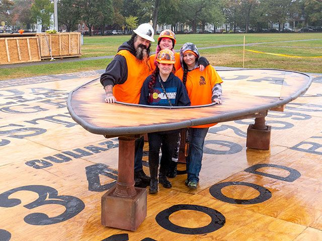 OuijaZilla Crowned As The World's Largest Ouija Board