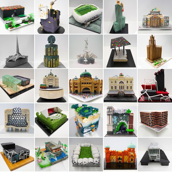 Melbourne's Iconic Buildings Inspired Monumental Cake Competition