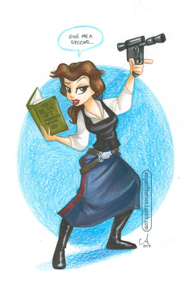 Belle Solo Is The Ultimate Hero For Little Girls Neatorama