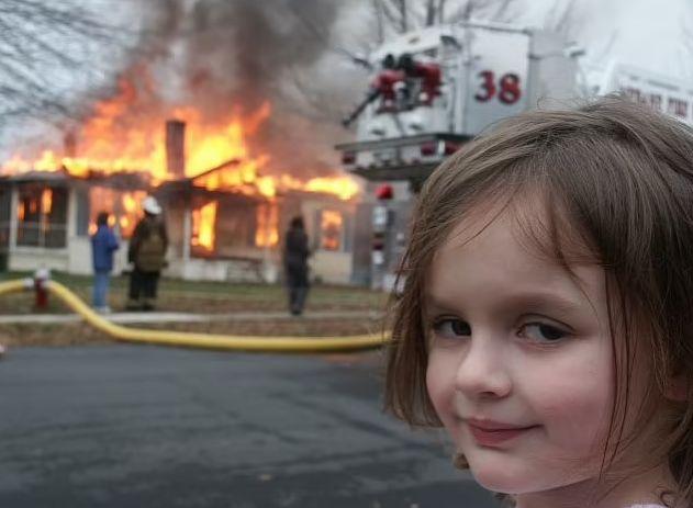 Disaster Girl Sold A Digital NFT Of Her Meme For $450,000