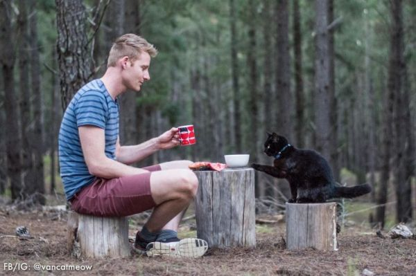 A Man and His Cat Travel Australia