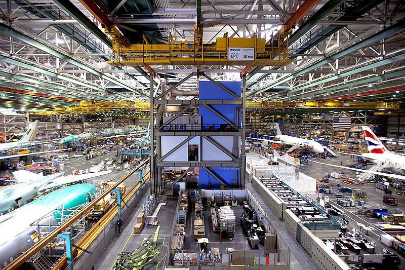 Life Inside Boeing's Everett Factory, the Biggest Building in the World