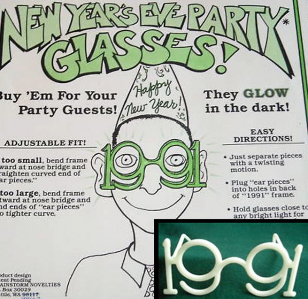 The Untold Story of New Year's Novelty Glasses
