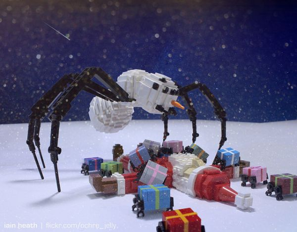 Christmas Horror in LEGO
