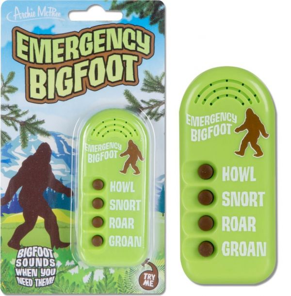 Emergency Bigfoot In Your Pocket